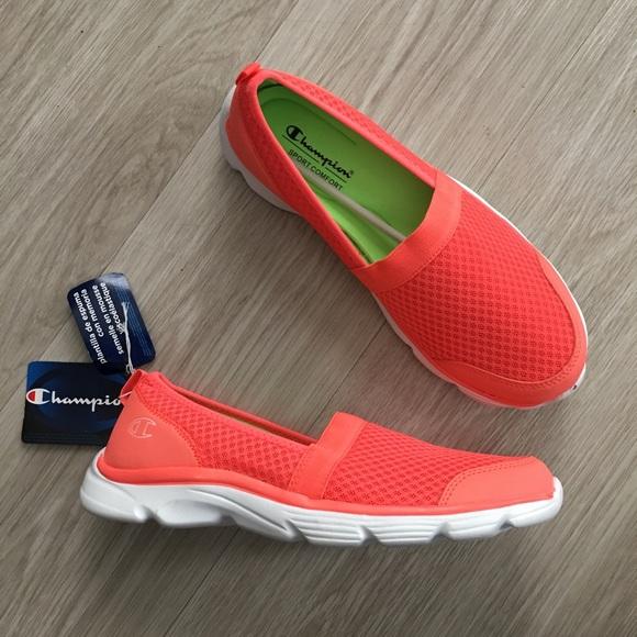 huge discount b6bf7 d7915 Champion Women s Slip on Memory Foam Sneakers 10